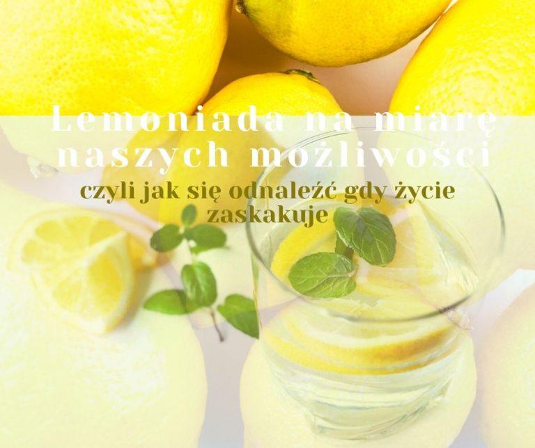 Lemoniada na miarę naszych możliwości